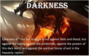 bible darkness