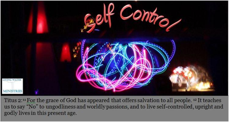 bible self control