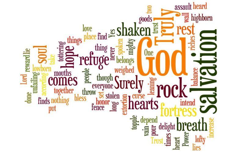 Bible psalm 62