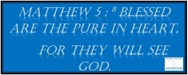 Bible pure in heart
