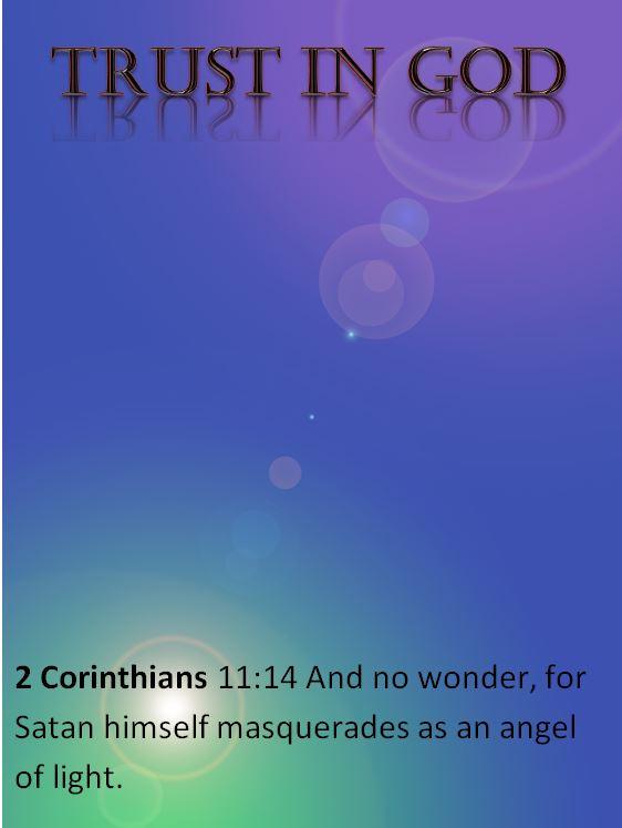 BIble trust in god
