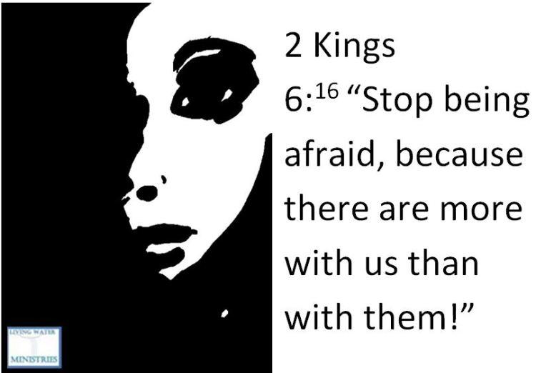 Bible afraid