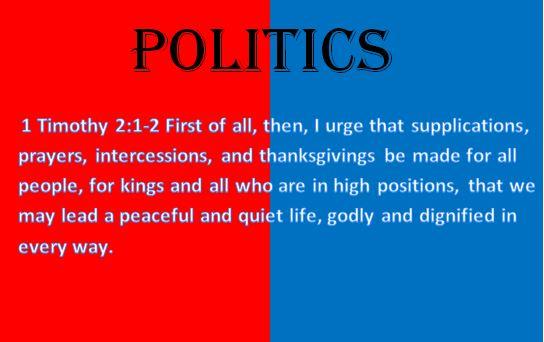 Bible politics