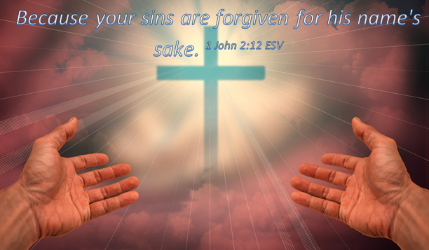 Yours sins are Forgiven