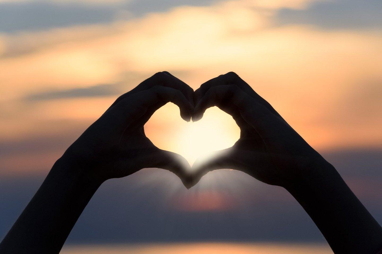 the heart it is love