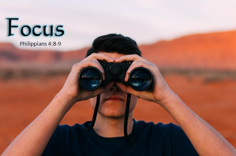 Keep your focus